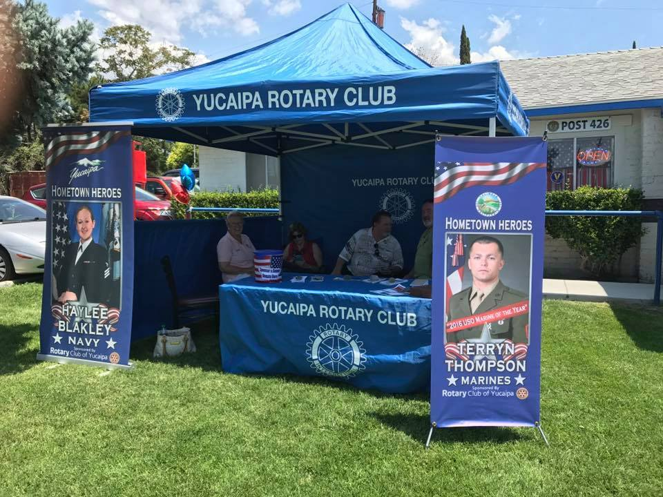 Yucaipa Hero's Banner Program